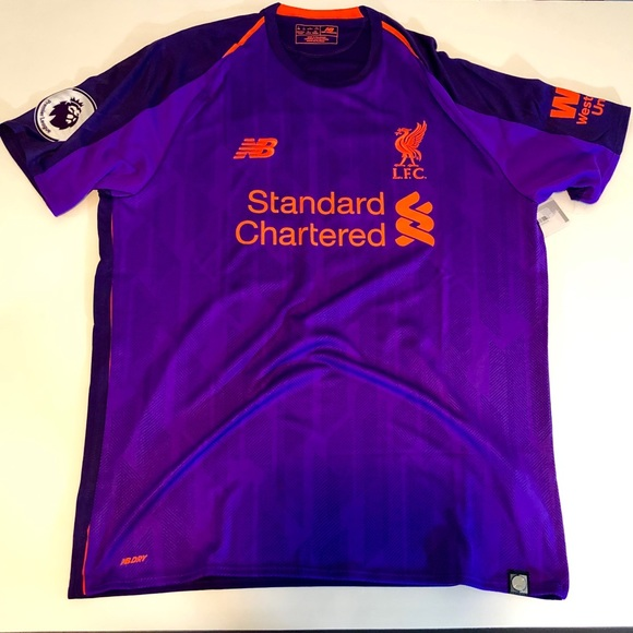 83198f1c3 New Balance Shirts | Mohamed Salah Liverpool 1819 Away Jersey | Poshmark